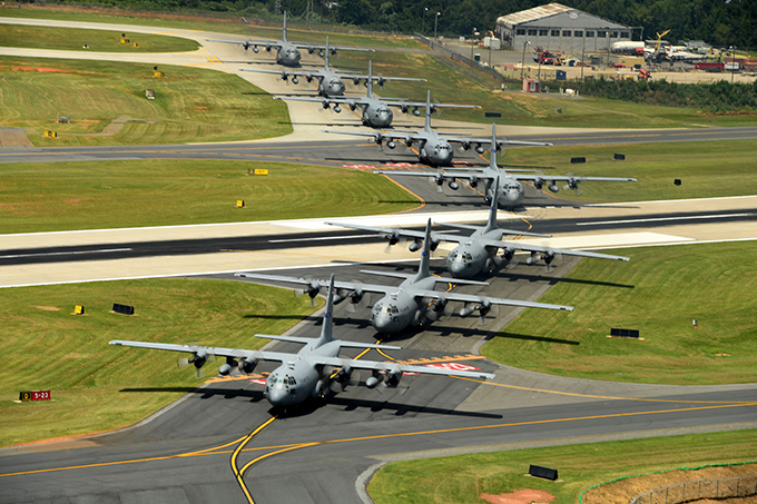 The NCANG Conducts A Final C-130 Max Flight