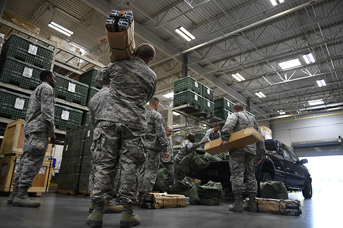 145th Logistics Readiness Squadron Supports Hurricane Irma Relief