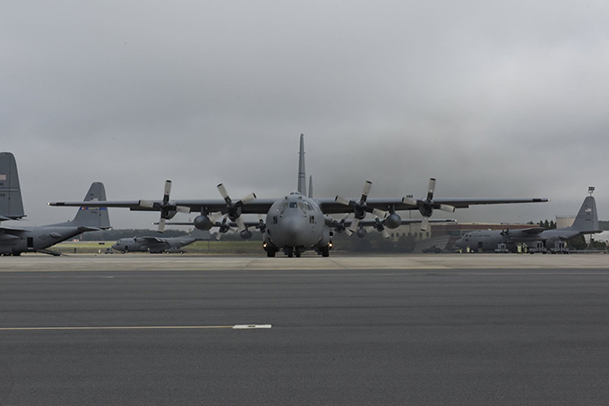 NCANG Bids Farewell to Two C-130's