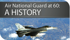 A small graphic of air national guard history